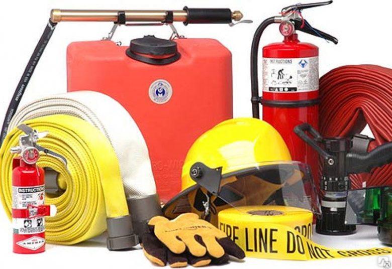 Противопожарное оборудование: назначение и использование
