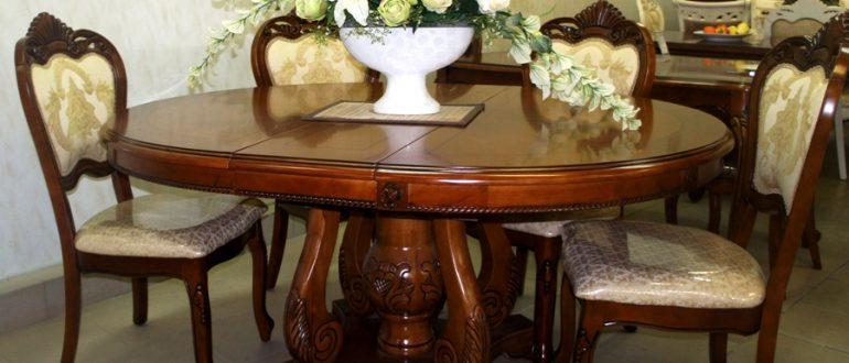 Преимущества мебели из массива
