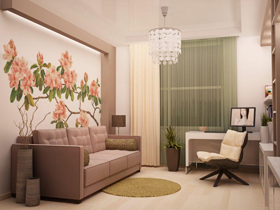 Интерьер однокомнатной квартиры – экономия и полет фантазии в ограниченном пространстве