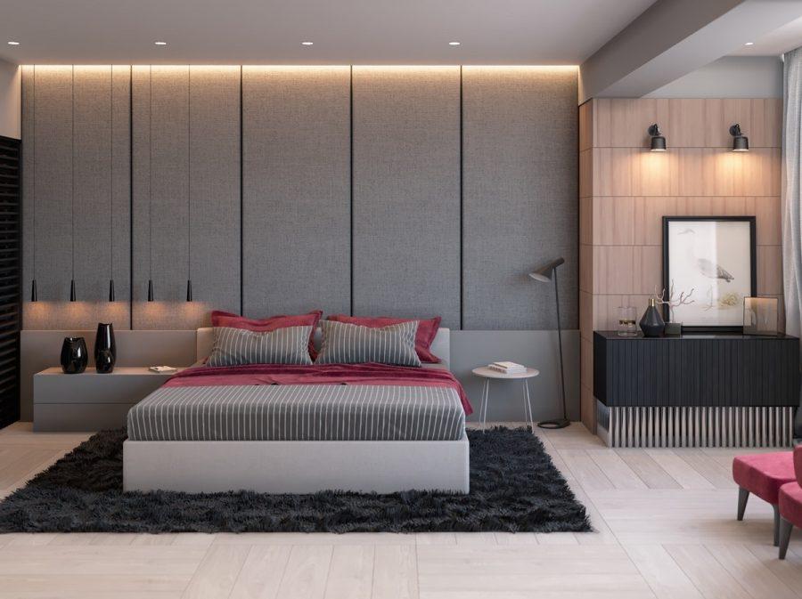 Модные интерьеры спальни