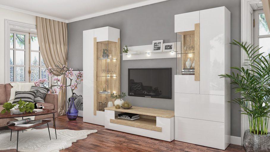 Мебель в гостиной: критерии выбора