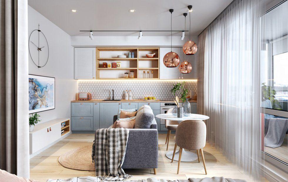 Продумываем дизайн маленьких квартир