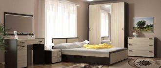 Мебель для спальни: красиво и удобно