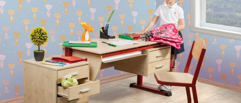 Особенности и разновидности школьной мебели