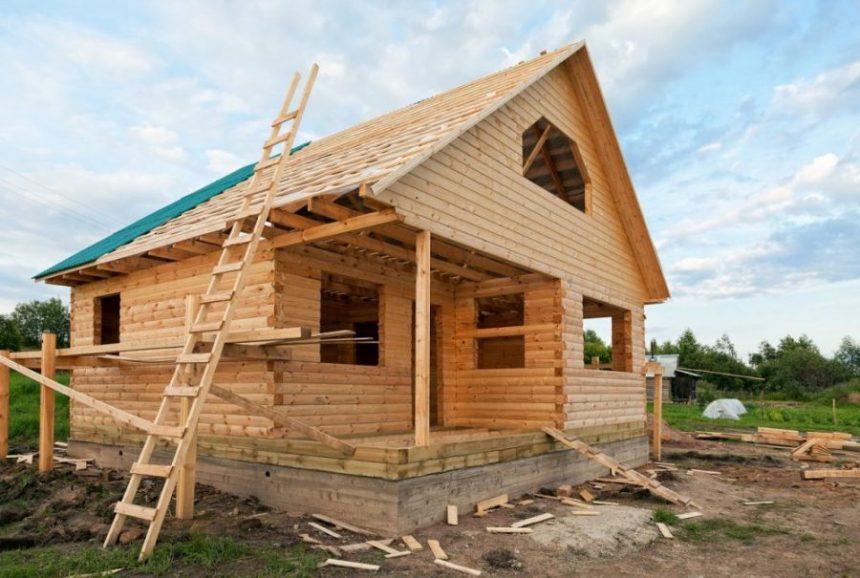 Как начать строительство деревянного дома
