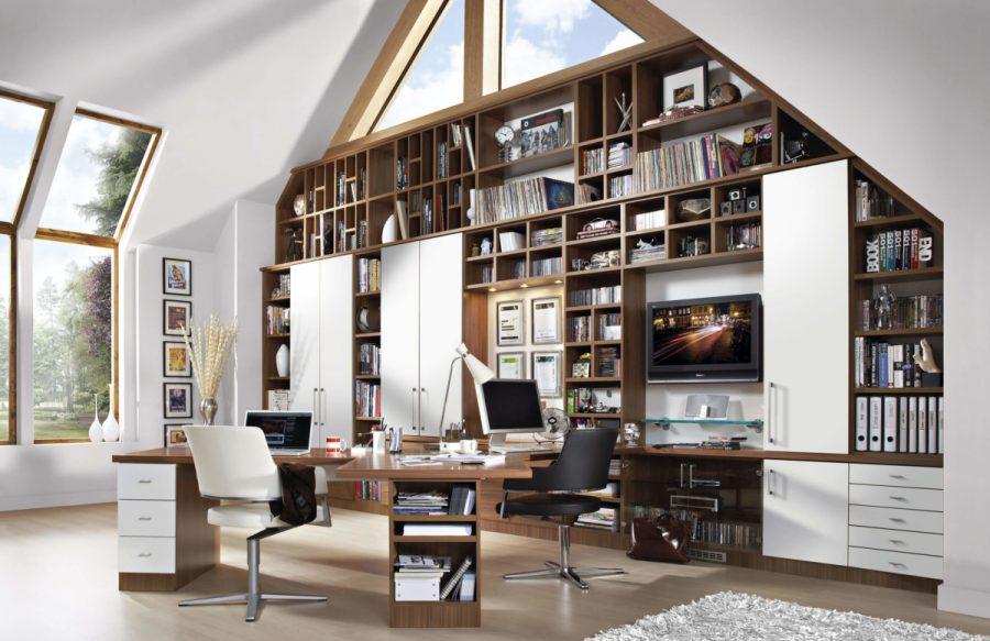 Из каких деталей складывается интерьер домашнего кабинета?