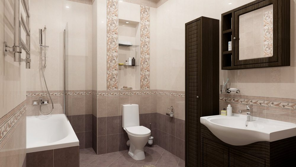 Идеальное решение для ванной комнаты: керамическая плитка