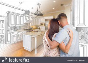 custom-kitchen-design-stock-photo-3933166