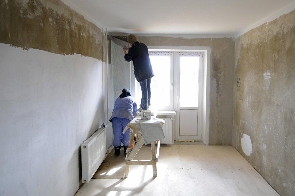 Капитальный ремонт. Этапы и особенности