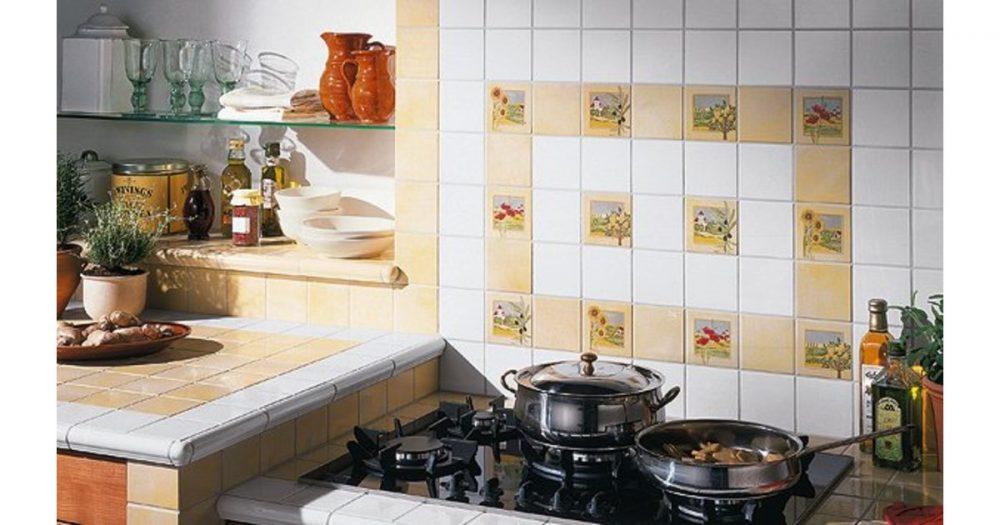 Дизайн интерьера кухни и керамическая плитка