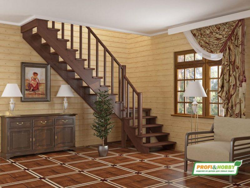 Лестницы деревянные на заказ