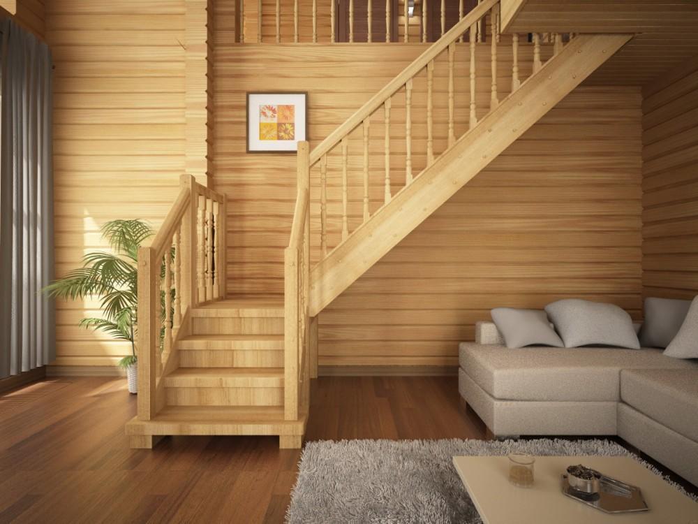 Подбираем лестницы для загородного дома