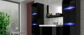 Дизайнерская мебель — уникальное решение для ванной комнаты