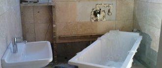 Ремонт ванной своими руками или профессиональный?