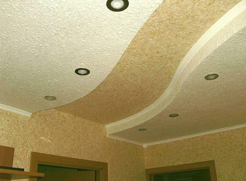 Особенности декоративной отделки потолков