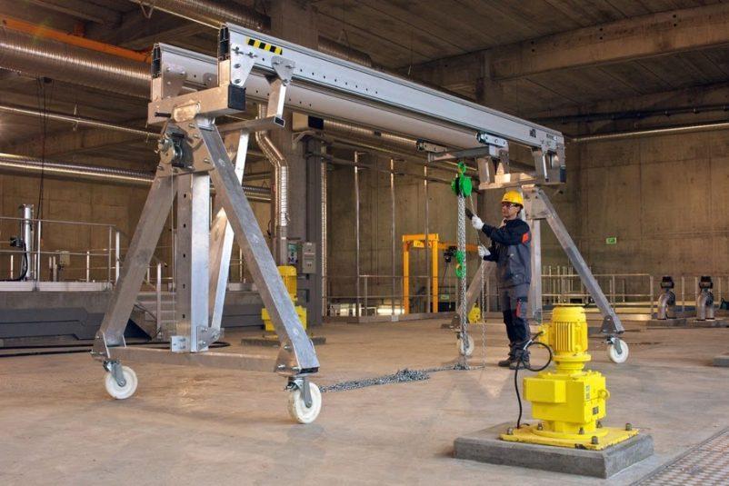 Применение такелажного оборудования в строительстве