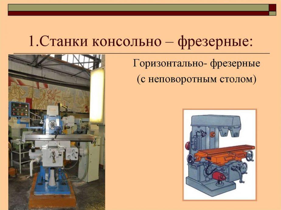 Типы фрезерных станков