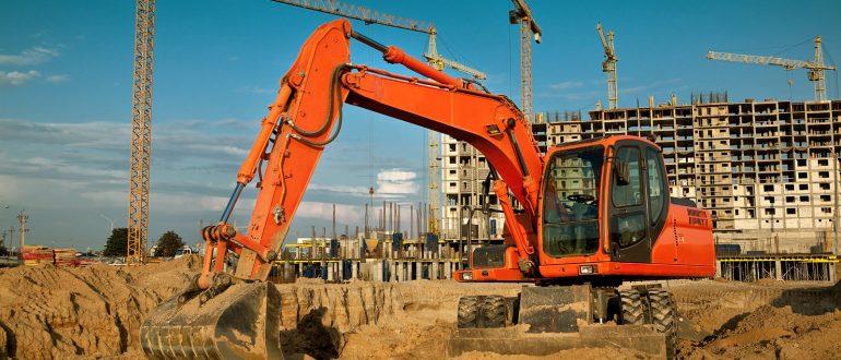 Использование экскаваторов в строительстве