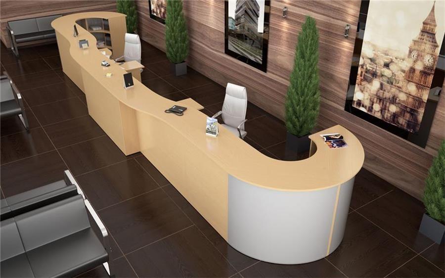 Дизайн мебели на ресепшн