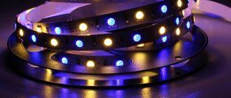 Особенности современных светодиодных лент