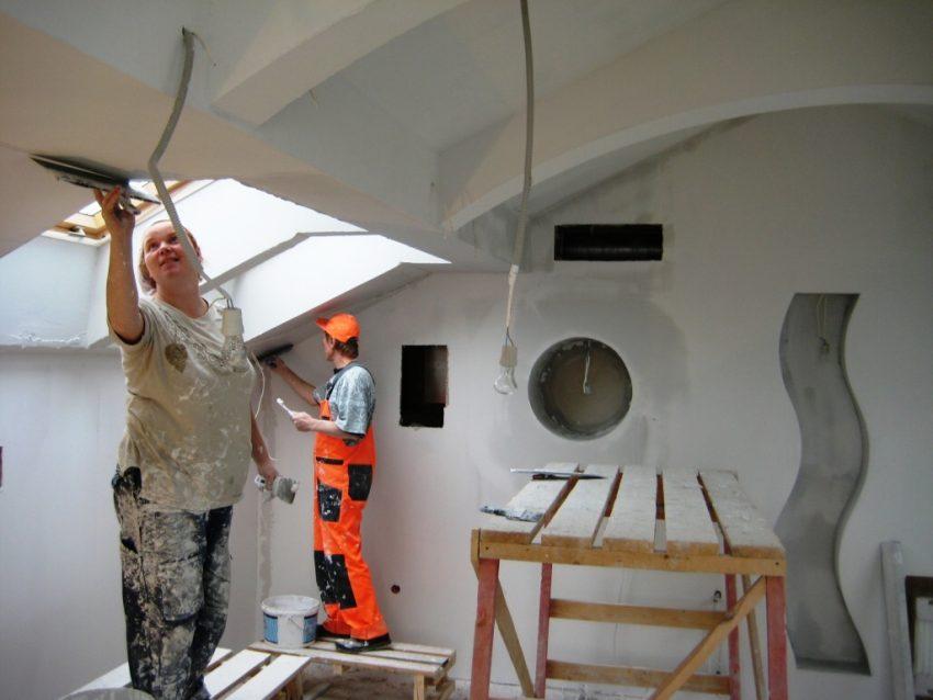 Особенности отделочных работ при ремонте квартиры