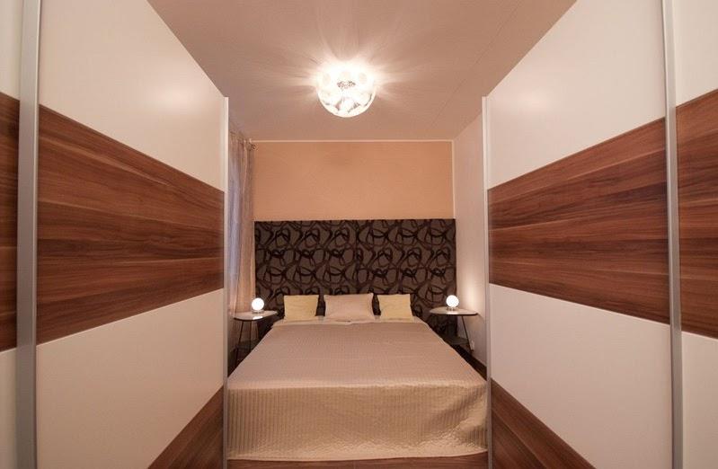 Несколько советов для узкой спальни