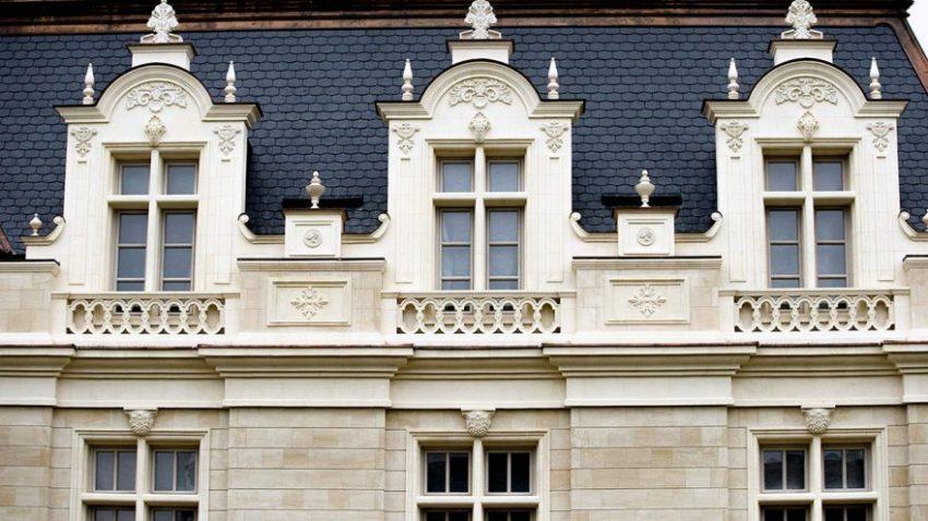 Оригинальные элементы фасада дома